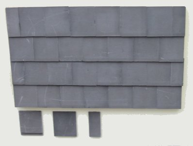 Viscountess Roof Tiles - Dolls House